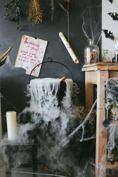 Halloween Party Ideas for Adults - Halloween Dry Ice Ideas