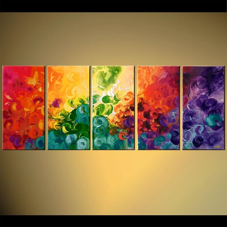Abstract Art By Osnat Tzadok Art Painting Sun Painting