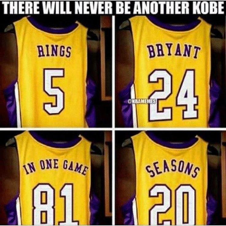 Non ci sarà più un altro Kobe!!!!