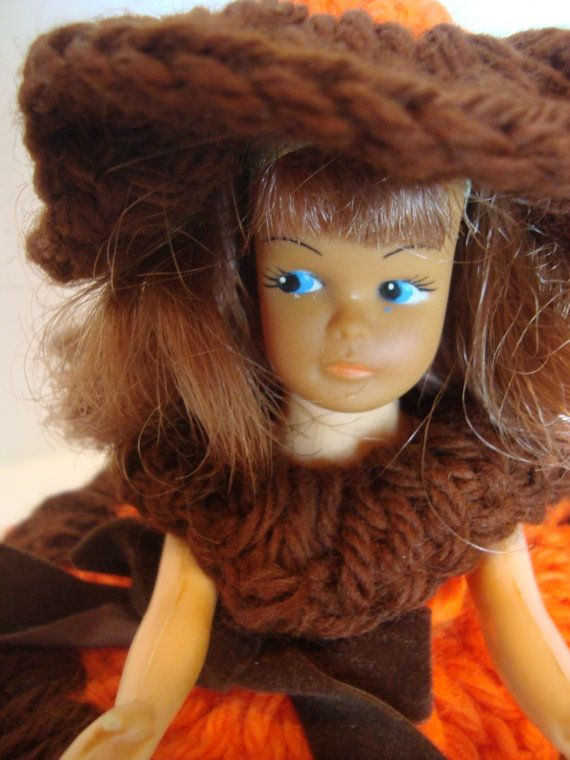 Doll Toilet Paper Cover Vintage Roll Cover by OmasBasement on Etsy, $9.00