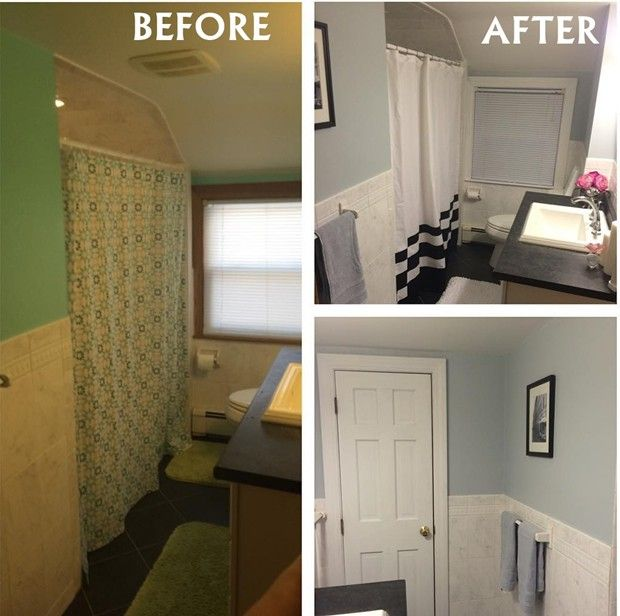 Small Bathroom Remodel Ideas Before And After11 Small