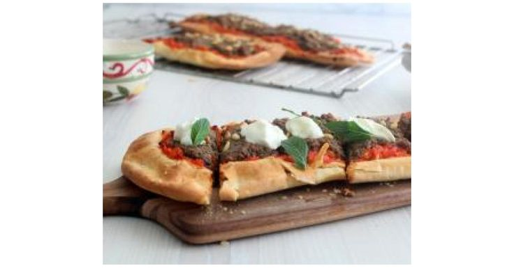 Middle Eastern Lamb Pide