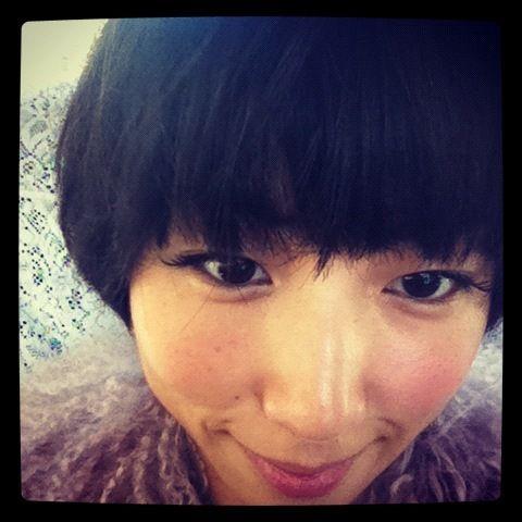 MEGUMI's short hair is so cute!!