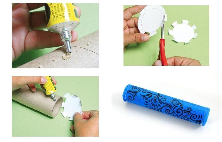 Con un rollo de papel de cocina podemos hacer este instrumento. ¡Veamos cómo!