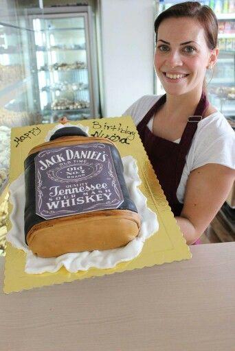 Jack daniels cake by elina