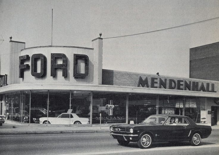 Ford Mustang Dealership 1965