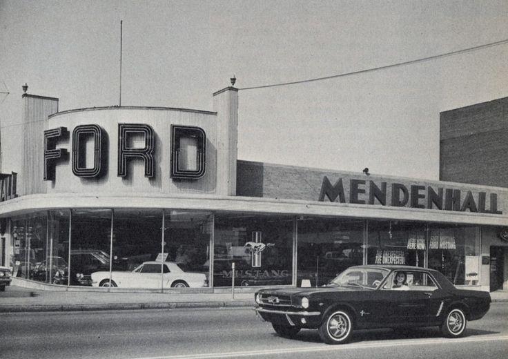 Ford Mustang Dealership 1965