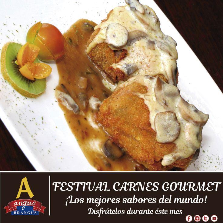 Hoy sugerimos un exquisito Cordón Blue; preparado con Solomito, jamón, queso y salsa de champiñones, recomendado en nuestro festival gastronómico Carnes Gourmet.  Reservas: 2321632 - 310 7006602. www.angusbrangus.com.co Cra. 42 # 34 - 15 / Vía las Palmas  #restaurantesmedellin #AngusBrangus #parrilla #medellíntown #medellíncity #restaurantesrecomendados #delicioso #foodlovers #quehacerenmedellin #dondecomerenmedellin #deliciasmedellin #meatlover #traditionalfood #buenambiente #exquisito…