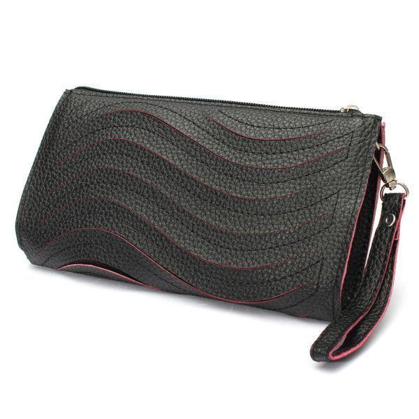 Women 8217 S Pu Handbag Wave Single Shoulder Cross Body Bag