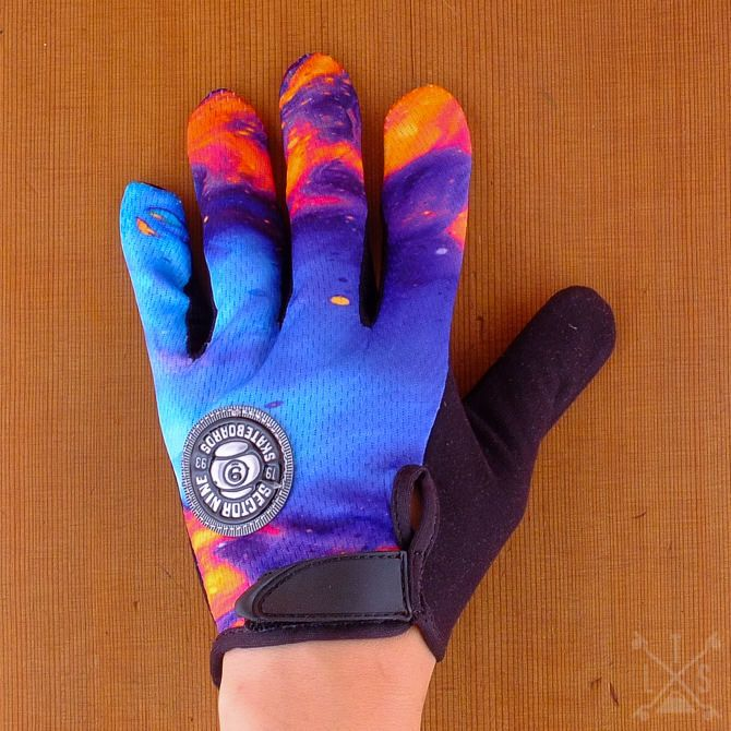 Sector 9 Space Cosmos Slide Gloves