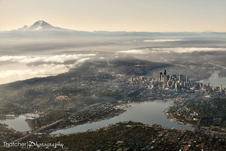Seattle, Wash. | 27 Incredible Views You'd Only See If You Were A Bird