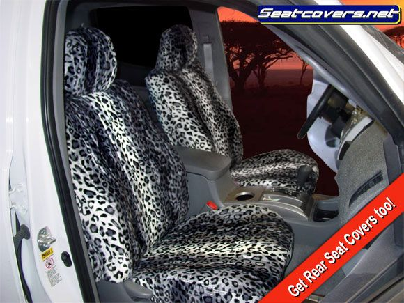 Gray Leopard Seat Covers. :-)