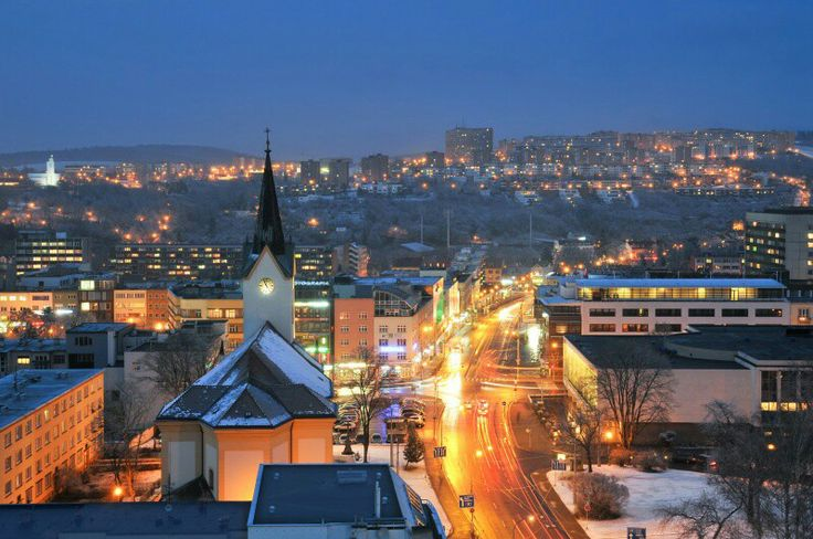 #zlín #city lights
