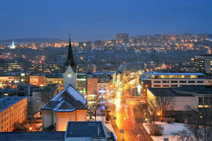 #zlín #city lights