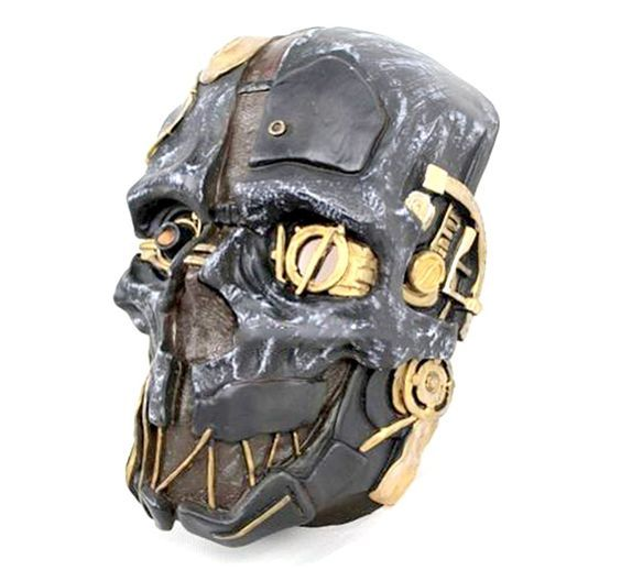 Dishonored Mask Corvo Attano Rat Urethane Costume Cosplay Halloween   Game Coin * You can find more details by visiting the image link.