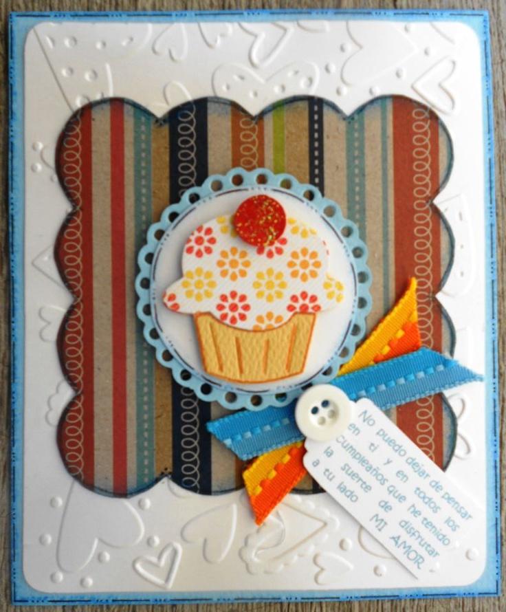 Tarjeta de cumpleaños para un hombre Tarjetas cumpleaños Pinterest