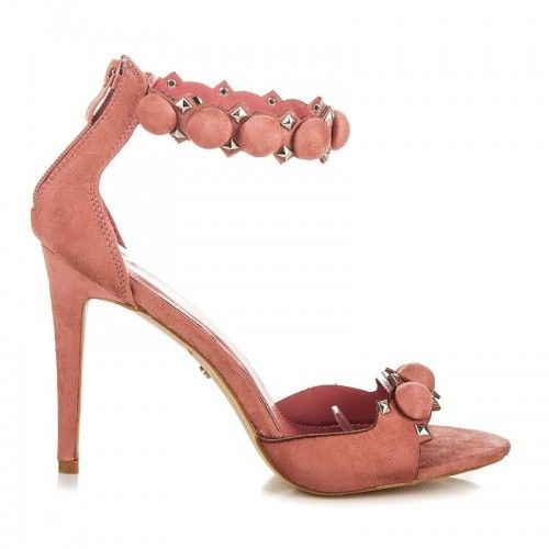 Dámské sandály Seastar Mystana růžové – růžová Více ženské sandály nemůžete ani najít. Dámské sandály se zdobením a v krásné barvě se výborně hodí především na večírky. Sandály s vysokým jehlovým podpatkem jsou vhodné především …