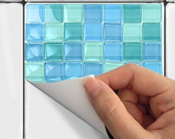 21 besten Fliesen Ideen Fliesensticker Tile Stickers Bilder auf - fliesen mosaik küche