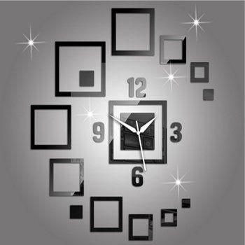 Relogio Parede 3d Espelho DIY Relógio de Parede Acrílica Abstrata Moderna Da Parede Grande Relógio Reloj Pared Parede Grandes Relógios de Parede Da Sala De Visitas