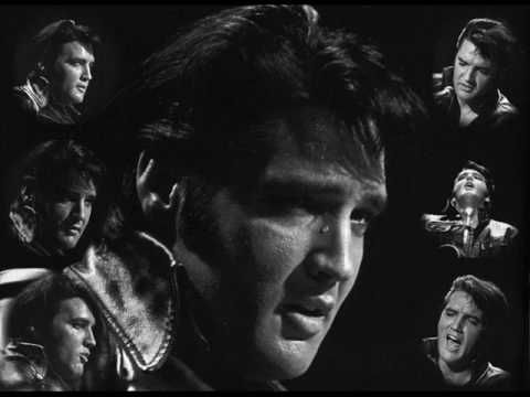 Elvis Presley - Softly, As I Leave You  This song was actually recorded in concert in 1973 the same year as the Aloha concert