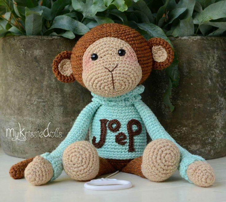 327 besten Ape Bilder auf Pinterest | Affen, Affe häkeln und ...