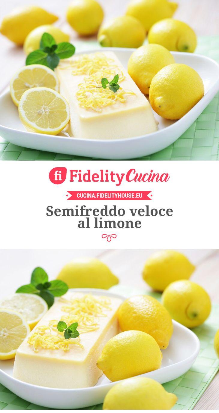 Semifreddo veloce al limone