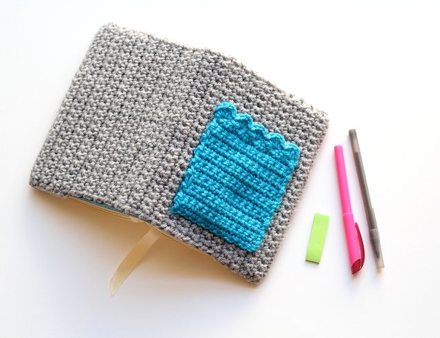 one sheepish girl: A Crochet Cozy for My Planner