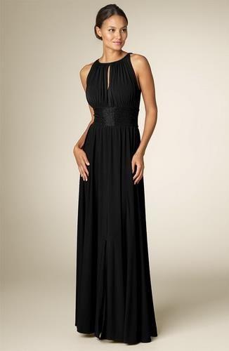 Длинное вечернее платье в греческом стиле