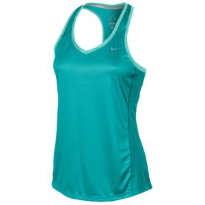 Nike Dri-FIT Miler Tank - Women's - Dusty Cactus/Dusty Cactus/Bleached Turquoise