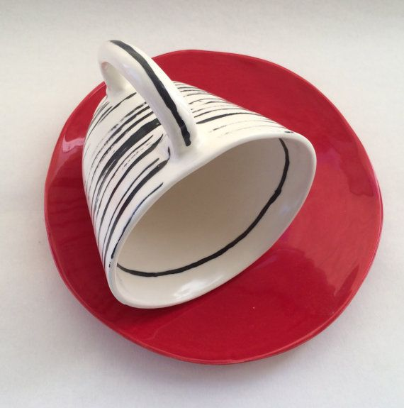 LeaWoodCeramics  - freeform dinnerware and serving pieces - on Etsy