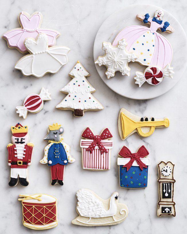 Nutcracker Boxed Cookie Kit Christmas Sugar Cookies Cookie Kit