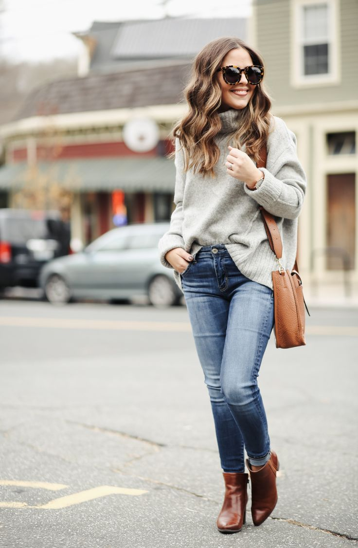 Best 25  Oversized sweater outfit ideas on Pinterest | Casual ...