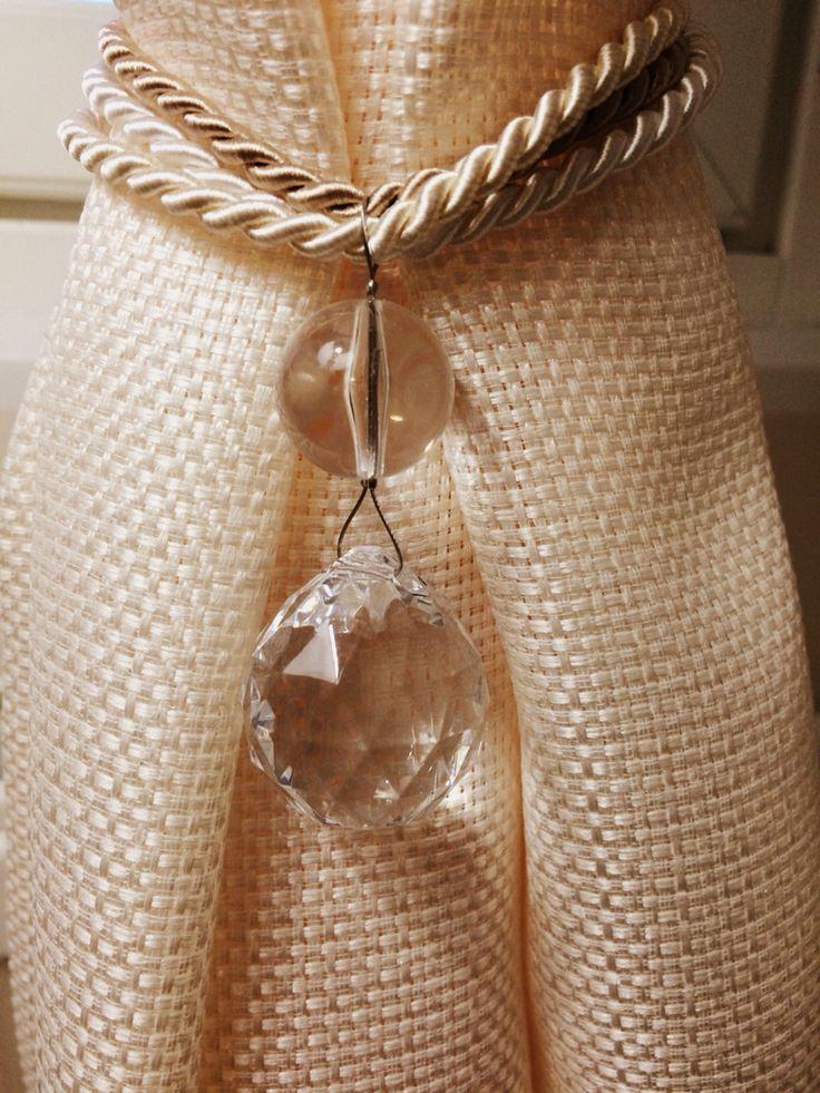 Deco curtain jewelry