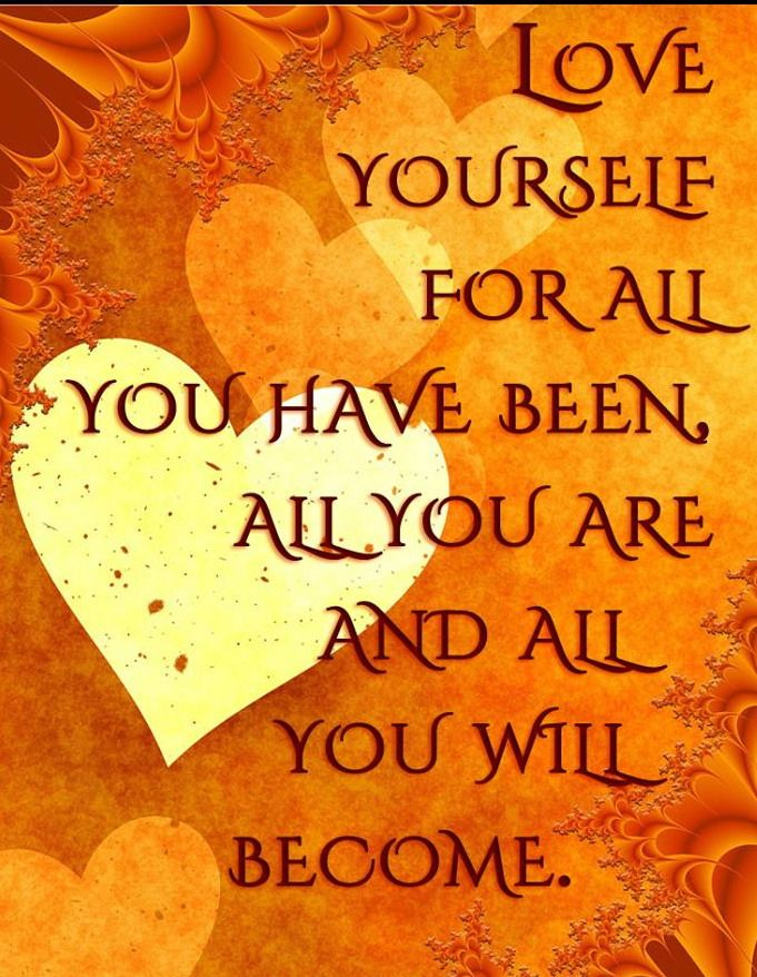 Loving every stage of your life bring you closer to happiness and paves the way for helping you become the person you want to be