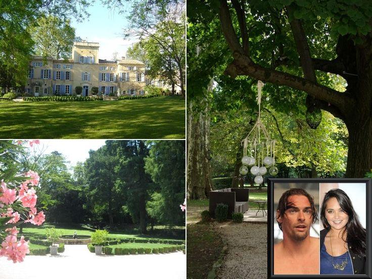 Le château des Barranques : Valérie Bègue et Camille Lacourt : Les lieux…