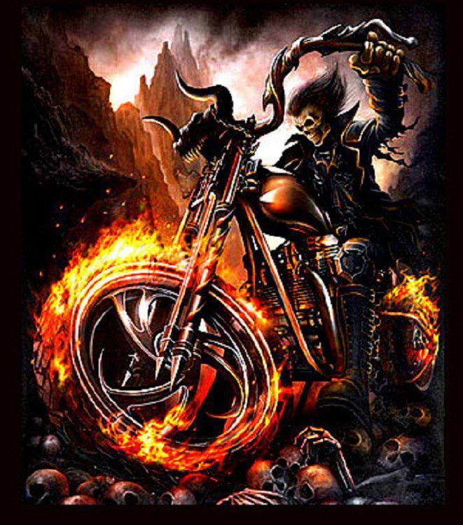 Ghost Rider Quotes About Life And Death: Pin By Matthew Grant On Skulls And Grim Reapers
