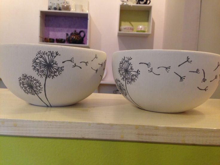 Neue Werke und der Anfang meines Service. Keramikmalen in Köln
