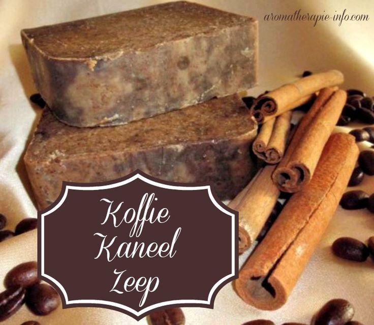 Deze koffie kaneel zeep heeft een licht scrub effect door de gemalen koffie en wordt gemaakt van zeepvlokken.