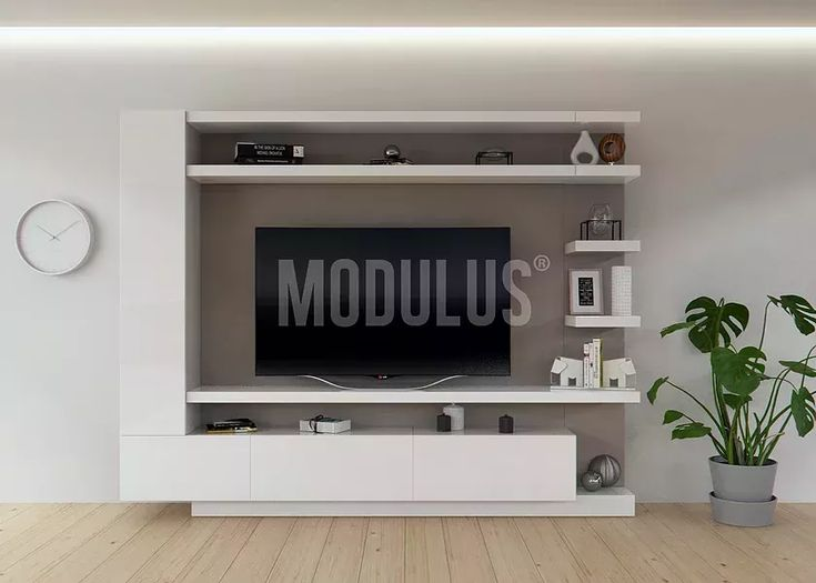 M s de 25 ideas incre bles sobre muebles para tv modernos for Racks y modulares para living