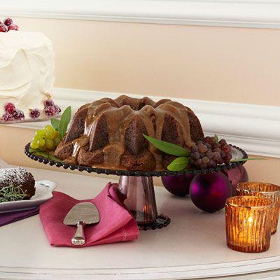 Sticky Toffee Bundt Cake with Caramel Glaze