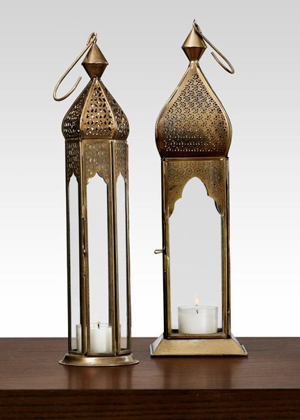 Antiqued Bronze Mahal & Taj Square Lantern India Wedding Decorations <3 themarriedapp.com hearted <3