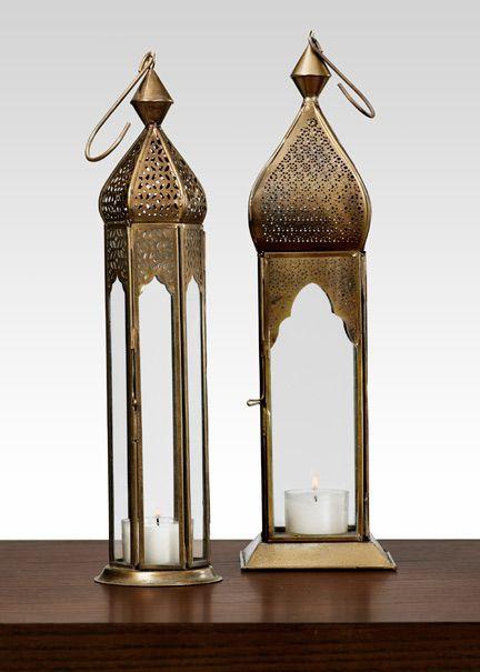 Antiqued Bronze Mahal & Taj Square Lantern India Wedding Decorations <3 themarriedapp.com hearted <3