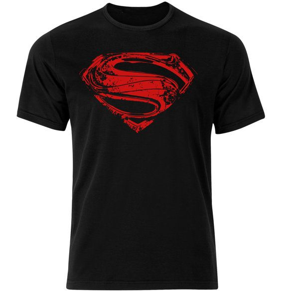Superman T-shirt Hope Chest Logo T-shirt Symbol by 682Designs
