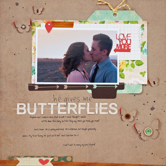 he gives me butterflies layout ::Using Your Eraser Tool Tutorial