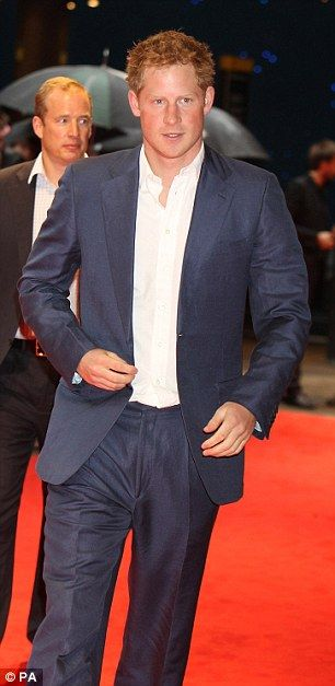 Prince Harry is the most eligible bachelor in the world - He is also very handsome! More so than his brother (I think).