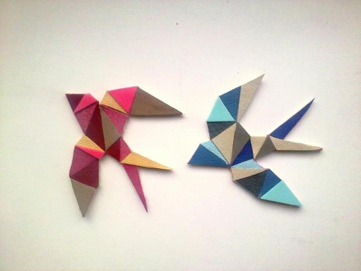 cutnpaste potrafi z małych trójkącików wyczarować wszystko. zwłaszcza super biżuterie