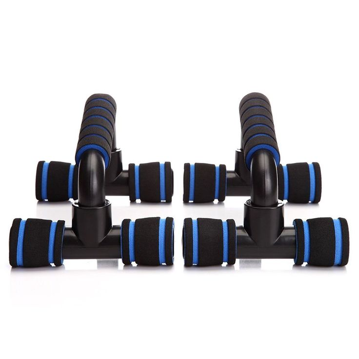 Push Up Bars Pushup Stands Fitness Workout Handles Exercise Training Home Gym #Readaer