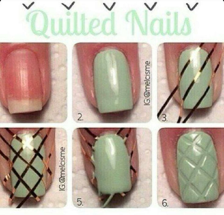 Quilted Nails! #Beauty #Trusper #Tip