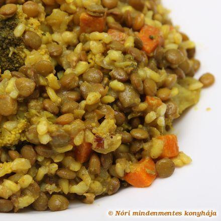 Nóri mindenmentes konyhája: Lencse curry brokkolival