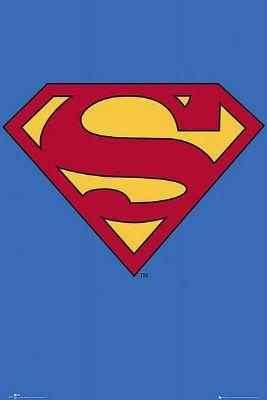 Póster logo Superman, clásico Foto 1